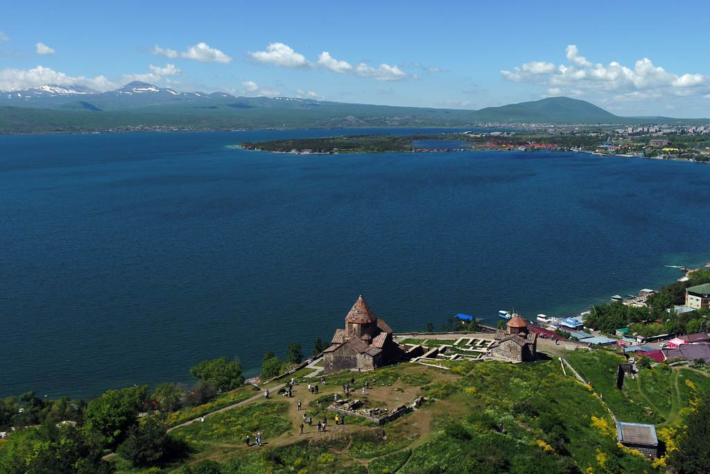 Rest in Sevan / Organization of tours in Armenia